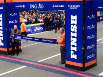 NYC finish-line