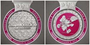 2014 Wine Dine Half Marathon Medal