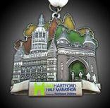 hartford half medal