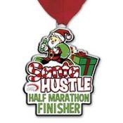 santa hustle medal