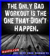 bad workout